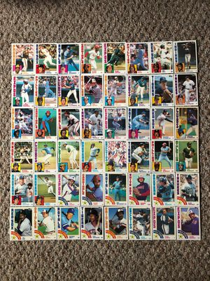 Baseball Cards - Topps 1984 Hall of Fame & All Star Players for Sale in South Brunswick Township, NJ