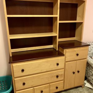 Kids/baby Dresser/bookcase/changing Table for Sale in Tacoma, WA