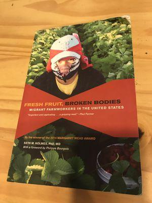 Fresh Fruit, Broken Bodies for Sale in Seattle, WA