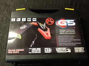 G 5 Battery Jumper for Sale in Ontario, CA