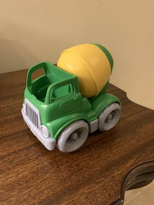 Green toys cement truck for Sale in Alexandria, VA