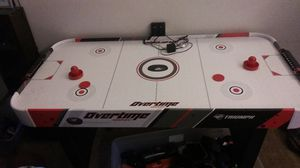 Kids small Air Hockey table electric score board for Sale in Portland, OR