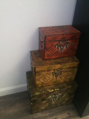 Storage containers for decoration for Sale in Phoenix, AZ
