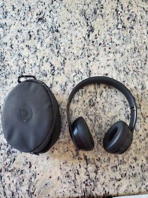 Black Beats Solo 3 Bluetooth Wireless Headset for Sale in Corona, CA