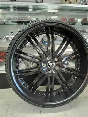 "26"" Dodge Ram Durango Wheels Tires Package Jeep Chevy 5-lug Tahoe Yukon Rims setof4 for Sale in Los Angeles, CA"