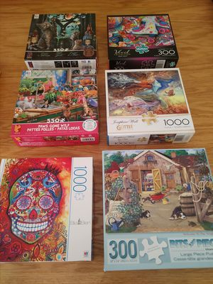 Multiple puzzles for Sale in Flemington, NJ