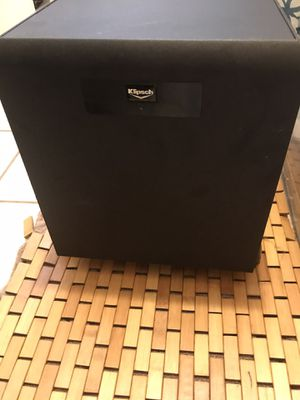 Klipsche sw350 powered subwoofer for Sale in Chevy Chase, MD