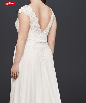 Plus size wedding dress Davids Bridal for Sale in Denver, CO