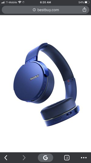 Sony Bluetooth Headphones for Sale in Riverdale, MD