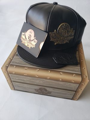 Pirates Of The Caribbean Leather Hat Limited Edition for Sale in Santa Fe Springs, CA
