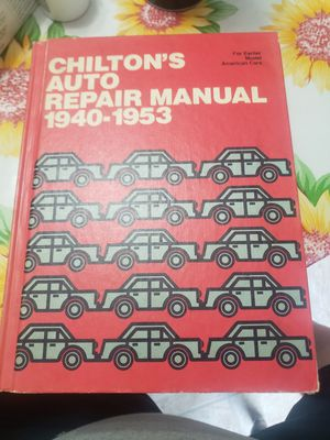 Chiltons car manual for Sale in Hanover, PA
