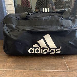 Adidas Large Black Rolling Travel Bag for Sale in Silverado, CA
