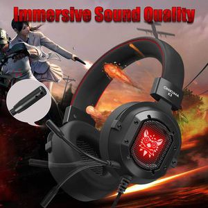 Gaming Headset, Gak3 Cool RGB Light, Metal Iron Mesh, HD Clear Hose Microphone Gaming Headphones, 40mm Super Bass Speakers, Soft Memory Earmuffs for for Sale in Pomona, CA