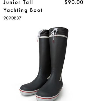 Gill Yachting & Rain Boot / Carbon Color / Euro 36 for Sale in Miami, FL
