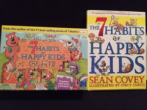 The 7 Habits Of Happy Kids Game and Book for Sale in Queens, NY