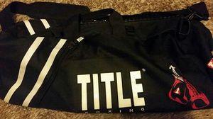Title duffle bag for Sale in Mesa, AZ