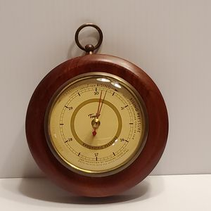 "Vintage Taylor barometer with wood frame. 5 ¼"" diameter. for Sale in San Jose, CA"