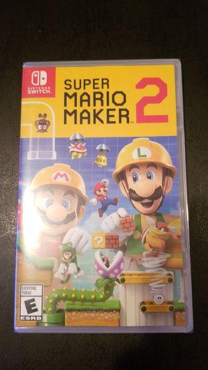 Nintendo Switch Super Mario Maker 2 for Sale in Philadelphia, PA