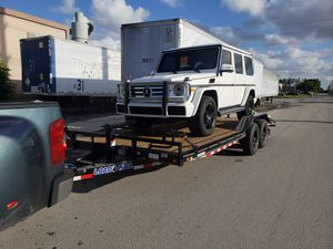 Car hauler on trailer transport for Sale in Hialeah, FL