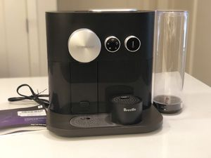 Nespresso Expert Espresso Machine by Breville, Black for Sale in Chevy Chase, MD