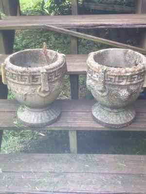 Concrete planters. for Sale in Lexington, KY