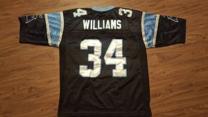 REEBOK Carolina Panthers DeANGELO WILLIAMS NFL Jersey for Sale in  Charlotte 6fdc9f4ad