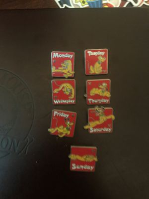 *RARE* Disney Days of the Week Pins for Sale in Roanoke, TX
