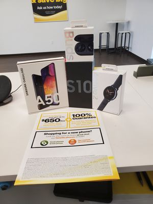 ROPE IN A FREE SAMSUNG S10 FROM SPRINT for Sale in Tucson, AZ