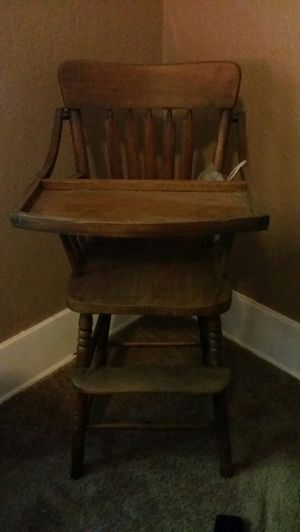 Antique High Chair for Sale in Seattle, WA