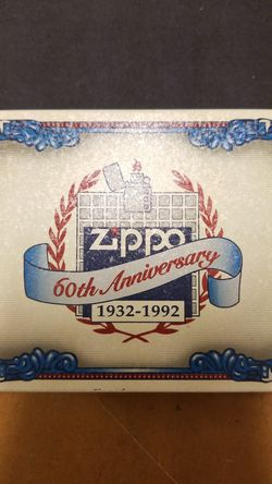 Zippo, 60th Annivesary 1932-1992. for Sale in Marysville,  WA