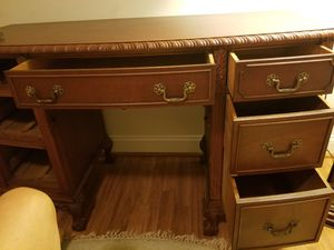 Antique German office desk for Sale in Anderson, SC