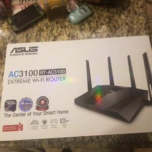 ASUS AC3100 RT-AC3100 WiFi Wireless for Sale in San Antonio, TX
