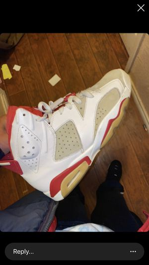 Jordan's 6s size 9.5 good condition 90 obo for Sale in Fort Worth, TX