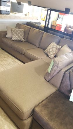 ASHLEY 912 GREY LEFT HAND FACING GREY SOFA CHAISE for Sale in Mentor,  OH