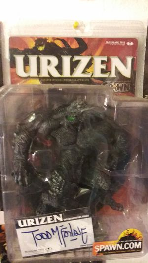 McFarlane Toys Spawn Urizen Action Figure Signed By Todd McFarlane 2001 for Sale in South San Francisco, CA