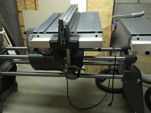 ShopSmith V wood working drill press sander lathe table saw for Sale in Evansville, IN