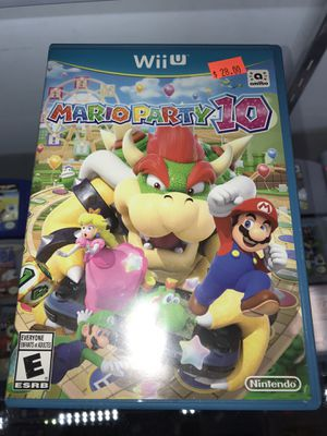 Mario party 10 Wii U video game for Sale in Garland, TX