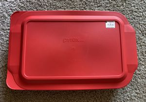 Pyrex 4QT oblong baking dish with cover for Sale in Sunnyvale, CA