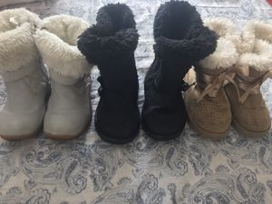 Toddler Girl Boots Size 6 for Sale in Las Vegas, NV