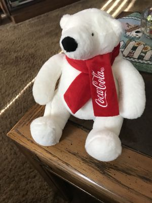 Stuffed Animal — Coca Cola Bear for Sale in Bloomingdale, IL