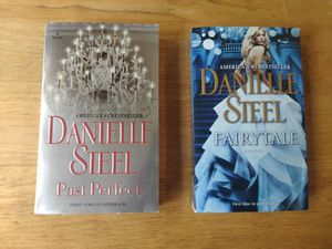 (2) Danielle Steel Books - Fairytale & Past Perfect - First Time Paperback for Sale in Fullerton, CA