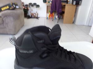 Men shoes work boots Caterpillar Size8 1/2 for Sale in Kissimmee, FL