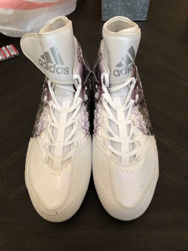 Adidas Uncaged Spartan Pattern Football Cleats