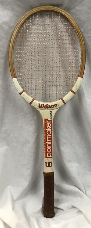 Vintage Wilson Pointmaker Junior Tennis Racket for Sale in St. Peters, MO