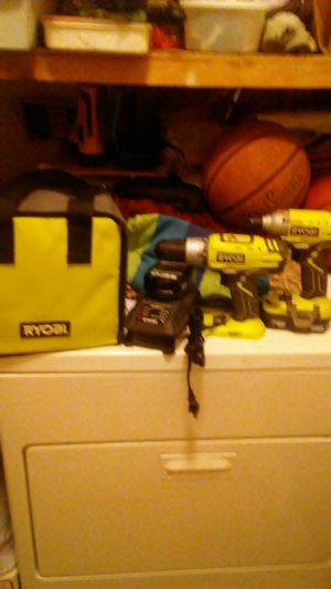 RYBOI 18V DRILL AND WRENCH BRUSHLESS for Sale in Milton, MA