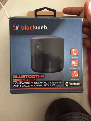 Blackweb Bluetooth speaker for Sale in Raleigh, NC