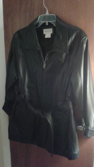 Black Leather Jacket for Sale in Orlando, FL
