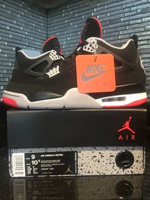 Nike Air Jordan Retro 4 size 9 for Sale in Springfield, VA