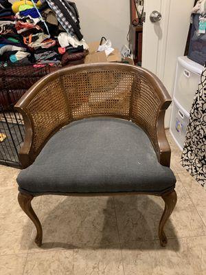 Rattan Barrel Back Chair for Sale in Denver, CO