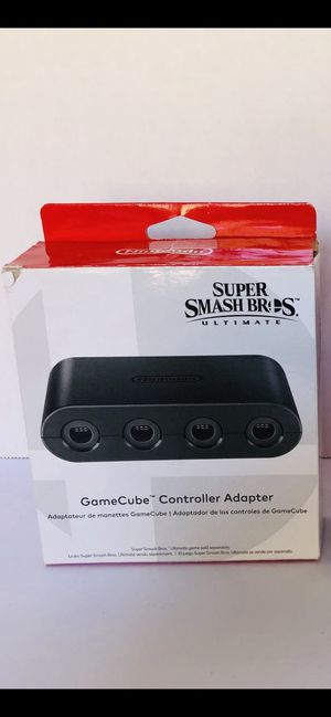 Super smash bros GameCube adapter for Sale in Chula Vista, CA